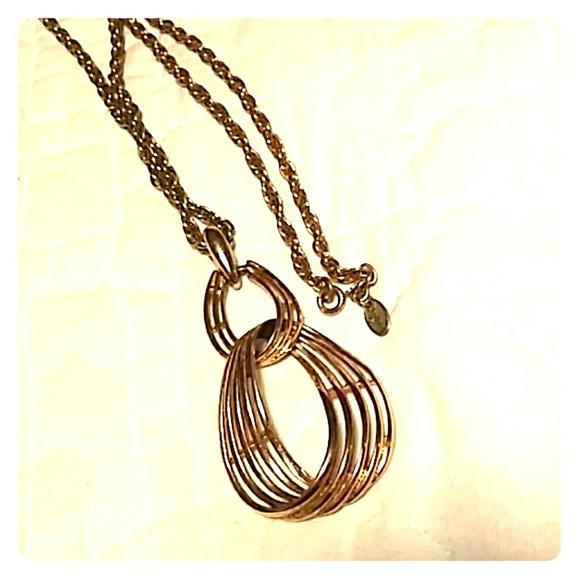 Vendome Jewelry - Vintage Gold Vendome Necklace